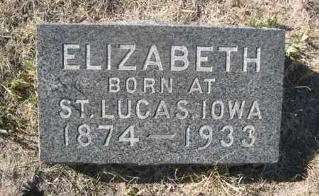 KONRATH, ELIZABETH - Sioux County, Nebraska | ELIZABETH KONRATH - Nebraska Gravestone Photos