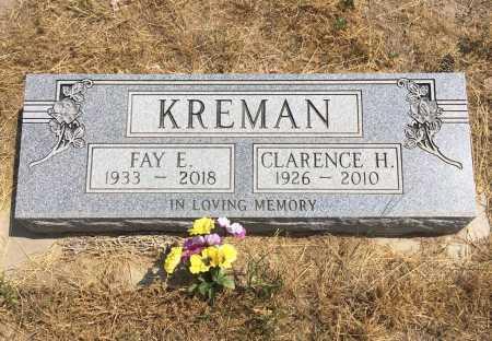 KREMAN, CLARENCE H. - Sioux County, Nebraska   CLARENCE H. KREMAN - Nebraska Gravestone Photos