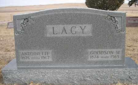 LACY, GOODSON M. - Sioux County, Nebraska   GOODSON M. LACY - Nebraska Gravestone Photos