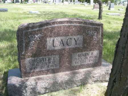 LACY, CHESTER C. - Sioux County, Nebraska   CHESTER C. LACY - Nebraska Gravestone Photos