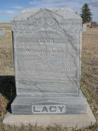 LACY, EVA - Sioux County, Nebraska | EVA LACY - Nebraska Gravestone Photos