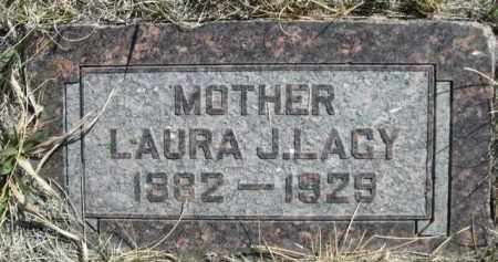 LACY, LAURA J. - Sioux County, Nebraska | LAURA J. LACY - Nebraska Gravestone Photos