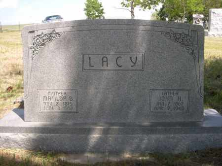 LACY, MATILDA B. - Sioux County, Nebraska | MATILDA B. LACY - Nebraska Gravestone Photos