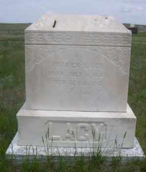 LACY, PATRICK - Sioux County, Nebraska   PATRICK LACY - Nebraska Gravestone Photos