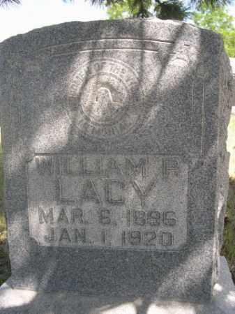 LACY, WILLIAM P. - Sioux County, Nebraska   WILLIAM P. LACY - Nebraska Gravestone Photos