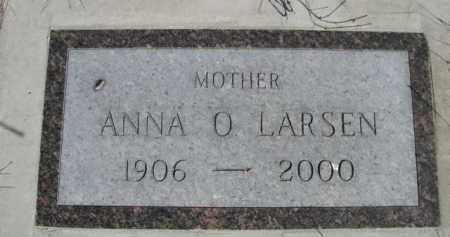 LARSEN, ANNA O. - Sioux County, Nebraska   ANNA O. LARSEN - Nebraska Gravestone Photos