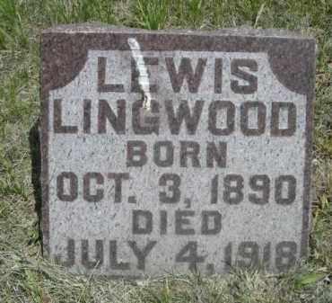 LINGWOOD, LEWIS - Sioux County, Nebraska | LEWIS LINGWOOD - Nebraska Gravestone Photos