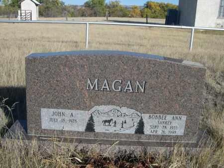MAGAN, BOBBEE ANN - Sioux County, Nebraska | BOBBEE ANN MAGAN - Nebraska Gravestone Photos