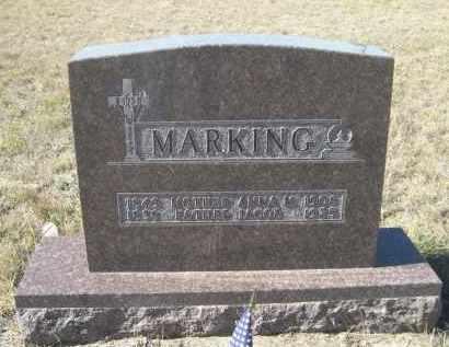 MARKING, JACOB - Sioux County, Nebraska | JACOB MARKING - Nebraska Gravestone Photos