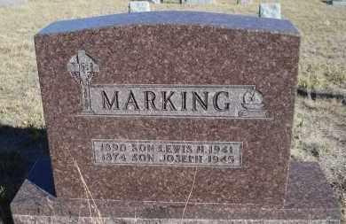 MARKING, LEWIS H. - Sioux County, Nebraska | LEWIS H. MARKING - Nebraska Gravestone Photos