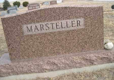 MARSTELLER, FAMILY - Sioux County, Nebraska | FAMILY MARSTELLER - Nebraska Gravestone Photos