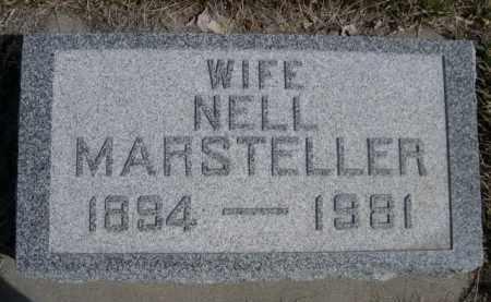 MARSTELLER, NELL - Sioux County, Nebraska | NELL MARSTELLER - Nebraska Gravestone Photos
