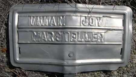 MARSTELLER, VIVIAN JOY - Sioux County, Nebraska | VIVIAN JOY MARSTELLER - Nebraska Gravestone Photos