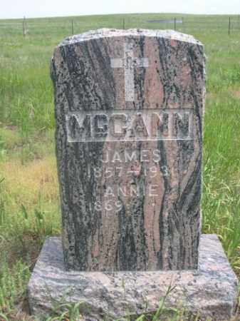 MCCANN, JAMES - Sioux County, Nebraska | JAMES MCCANN - Nebraska Gravestone Photos