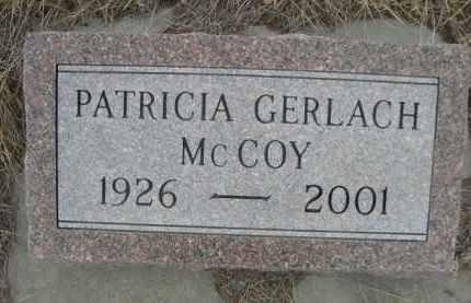 MCCOY, PATRICIA - Sioux County, Nebraska | PATRICIA MCCOY - Nebraska Gravestone Photos