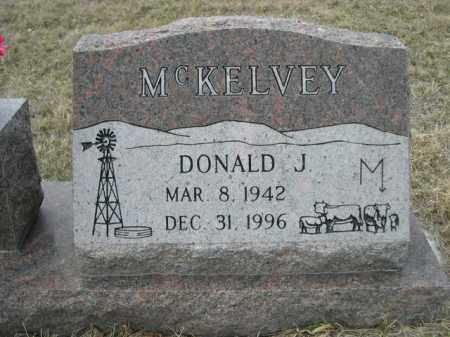 MCKELVEY, DONALD J. - Sioux County, Nebraska | DONALD J. MCKELVEY - Nebraska Gravestone Photos