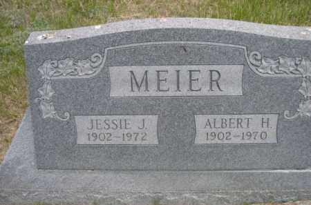 MEIER, ALBERT H. - Sioux County, Nebraska | ALBERT H. MEIER - Nebraska Gravestone Photos