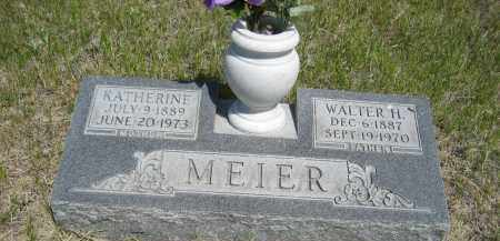 MEIER, WALTER H. - Sioux County, Nebraska | WALTER H. MEIER - Nebraska Gravestone Photos