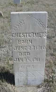 METS, CHESTER - Sioux County, Nebraska   CHESTER METS - Nebraska Gravestone Photos
