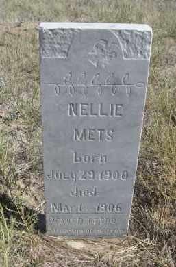 METS, NELLIE - Sioux County, Nebraska | NELLIE METS - Nebraska Gravestone Photos