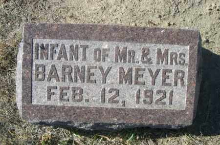 MEYER, INFANT OF MR. & MRS. BARNEY - Sioux County, Nebraska   INFANT OF MR. & MRS. BARNEY MEYER - Nebraska Gravestone Photos