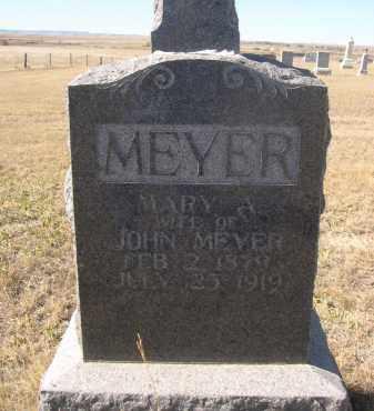 MEYER, MARY - Sioux County, Nebraska | MARY MEYER - Nebraska Gravestone Photos