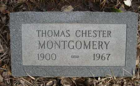 MONTGOMERY, THOMAS CHESTER - Sioux County, Nebraska   THOMAS CHESTER MONTGOMERY - Nebraska Gravestone Photos
