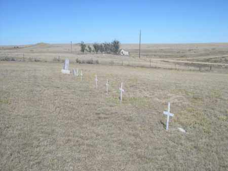 *MONTROSE CEMETERY, VIEW OF - Sioux County, Nebraska | VIEW OF *MONTROSE CEMETERY - Nebraska Gravestone Photos