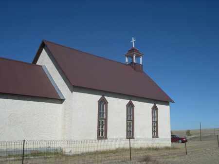 *MONTROSE CHURCH, VIEW OF - Sioux County, Nebraska | VIEW OF *MONTROSE CHURCH - Nebraska Gravestone Photos