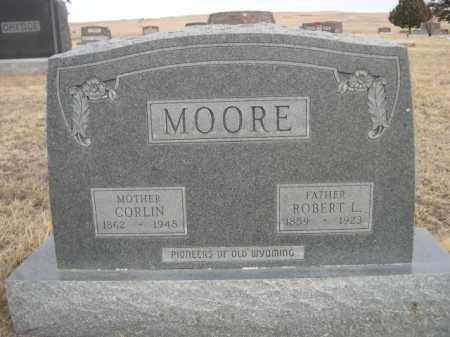 MOORE, CORLIN - Sioux County, Nebraska | CORLIN MOORE - Nebraska Gravestone Photos