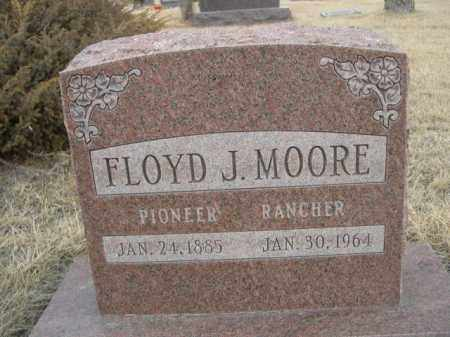 MOORE, FLOYD J. - Sioux County, Nebraska | FLOYD J. MOORE - Nebraska Gravestone Photos
