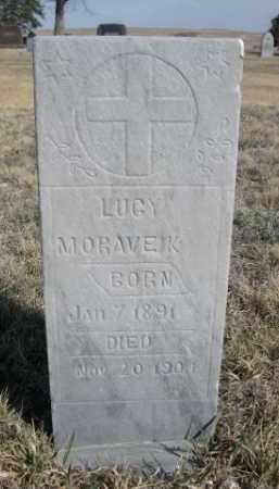MORAVEK, LUCY - Sioux County, Nebraska   LUCY MORAVEK - Nebraska Gravestone Photos