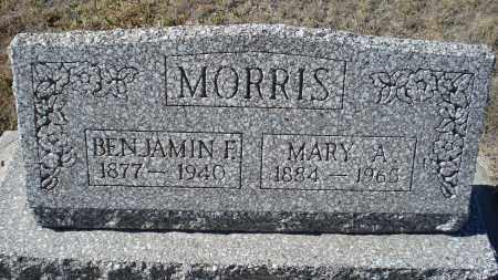 MORRIS, BENJAMIN F. - Sioux County, Nebraska | BENJAMIN F. MORRIS - Nebraska Gravestone Photos