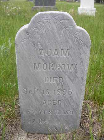 MORROW, ADAM - Sioux County, Nebraska | ADAM MORROW - Nebraska Gravestone Photos