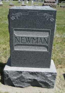 NEWMAN, FAMILY - Sioux County, Nebraska   FAMILY NEWMAN - Nebraska Gravestone Photos