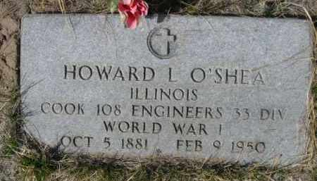 O'SHEA, HOWARD L. - Sioux County, Nebraska | HOWARD L. O'SHEA - Nebraska Gravestone Photos