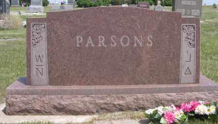 PARSONS, FAMILY - Sioux County, Nebraska   FAMILY PARSONS - Nebraska Gravestone Photos