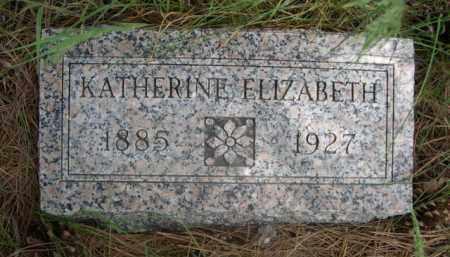 PAUL, KATHERINE ELIZABETH - Sioux County, Nebraska | KATHERINE ELIZABETH PAUL - Nebraska Gravestone Photos