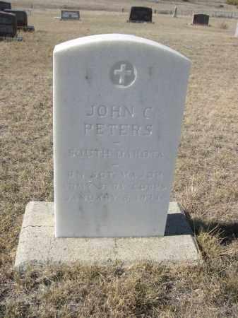 PETERS, JOHN C. - Sioux County, Nebraska | JOHN C. PETERS - Nebraska Gravestone Photos