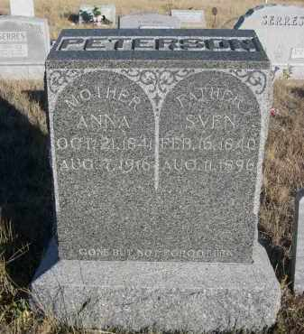 PETERSON, ANNA - Sioux County, Nebraska | ANNA PETERSON - Nebraska Gravestone Photos