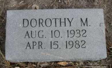 PHIPPS, DOROTHY M. - Sioux County, Nebraska | DOROTHY M. PHIPPS - Nebraska Gravestone Photos