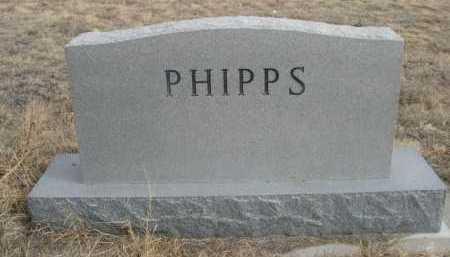 PHIPPS, FAMILY - Sioux County, Nebraska   FAMILY PHIPPS - Nebraska Gravestone Photos