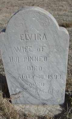 PINNEO, ELVIRA - Sioux County, Nebraska | ELVIRA PINNEO - Nebraska Gravestone Photos