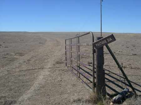 *PIONEER CEMETERY, GATE NEAR - Sioux County, Nebraska | GATE NEAR *PIONEER CEMETERY - Nebraska Gravestone Photos