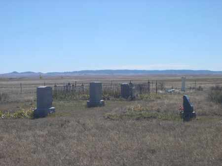 *PIONEER CEMETERY, VIEW OF - Sioux County, Nebraska | VIEW OF *PIONEER CEMETERY - Nebraska Gravestone Photos