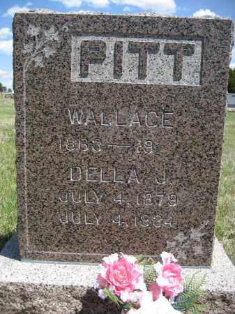 PITT, DELLA J. - Sioux County, Nebraska   DELLA J. PITT - Nebraska Gravestone Photos