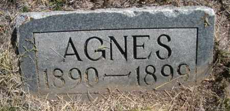 PLUNKET, AGNES - Sioux County, Nebraska | AGNES PLUNKET - Nebraska Gravestone Photos