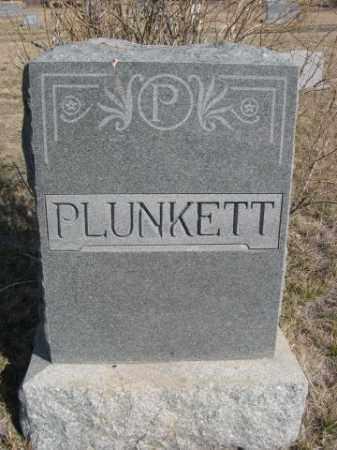 PLUNKETT, FAMILY - Sioux County, Nebraska | FAMILY PLUNKETT - Nebraska Gravestone Photos