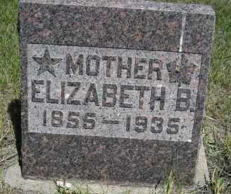 PONTIUS, ELIZABETH B. - Sioux County, Nebraska | ELIZABETH B. PONTIUS - Nebraska Gravestone Photos