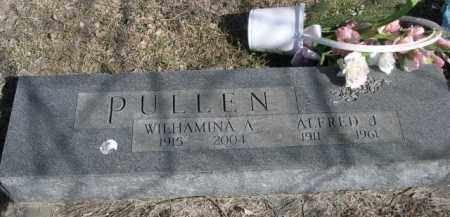 PULLEN, ALFRED J. - Sioux County, Nebraska   ALFRED J. PULLEN - Nebraska Gravestone Photos